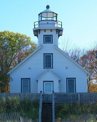 Artist: C. A. Hoffman - Title: Lighthouse II - Medium: Color Photograph - Year: 2008