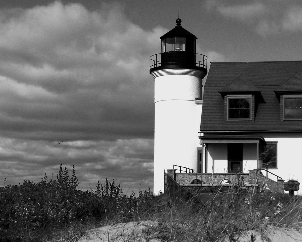 C a hoffman lighthouse at sleeping bear dunes ii