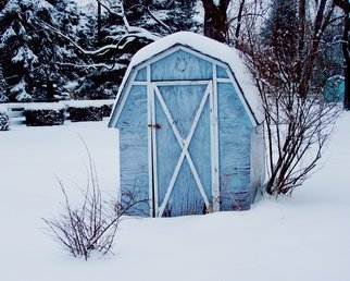 Color Photograph by C. A. Hoffman titled: Lonesome Winter Blues, created in 2009