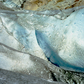 C. A. Hoffman: 'Mendenhall Glacier II  Tongass National Forest AK', 2009 Color Photograph, Landscape. Artist Description:  Another photo of the Mendenhall Glacier.  To think that I was actually landing in a helicopter and walking on a glacier! I had always dreamed of this! ...