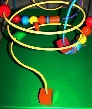 C. A. Hoffman Artwork Neon Loop De Loop II, 2008 Neon Loop De Loop II, Abstract Figurative