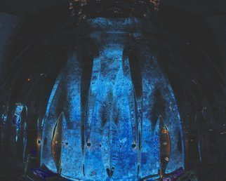 Artist: C. A. Hoffman - Title: Nexiuums Blue Dome - Medium: Color Photograph - Year: 2009