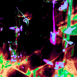 C. A. Hoffman: 'Nightlife On Nexium', 2009 Color Photograph, Abstract. Artist Description:  This is a piece from my