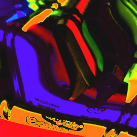 C. A. Hoffman Artwork Pick Your Color VII , 2009 Color Photograph, Abstract