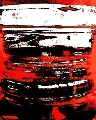 C. A. Hoffman Artwork Red Line Squeezer, 2009 , Abstract