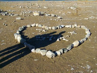 Color Photograph by C. A. Hoffman titled: Rock Solid Love, created in 2008