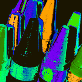 C. A. Hoffman: 'Rockets of Color', 2009 Color Photograph, Abstract. Artist Description:  Another piece from my