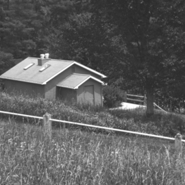 C. A. Hoffman Artwork Seclusion, 2010 Black and White Photograph, Landscape