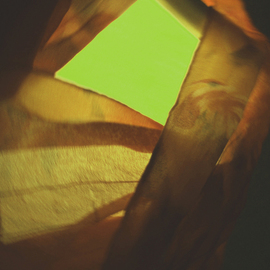 C. A. Hoffman Artwork Silk Evening in Green, 2009 Color Photograph, Abstract