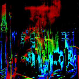 C. A. Hoffman Artwork Space Carnival II, 2008 Color Photograph, Abstract
