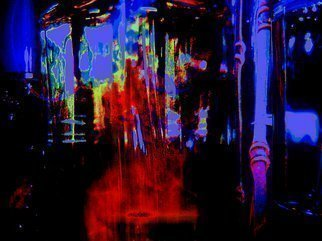 C. A. Hoffman Artwork Space Carnival Teleporstation, 2009 Color Photograph, Abstract
