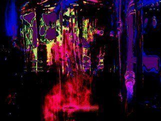C. A. Hoffman Artwork Space Carnival Teleportstation II, 2009 Color Photograph, Abstract