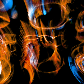 C. A. Hoffman: 'String Theory Fire Within', 2009 Color Photograph, Abstract.