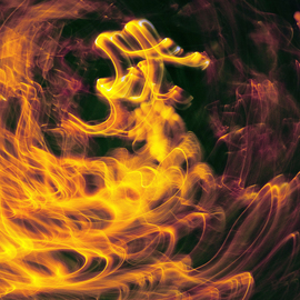C. A. Hoffman: 'String Theory Ignition Switchback', 2009 Color Photograph, Abstract.