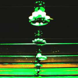 C. A. Hoffman: 'Synchronicity', 2009 Color Photograph, Abstract.