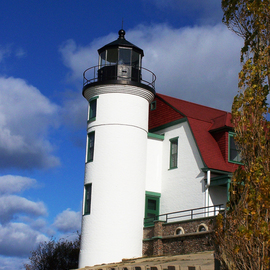 C. A. Hoffman: 'Tall and Stately', 2008 Color Photograph, Landscape. Artist Description:  This is just one of the many lighthouses in the Traverse City Bay area.All photos are available in sizes up to 16x20 inches. ...