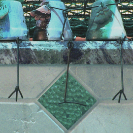 C. A. Hoffman Artwork Three Lucky Birds on the Sway, 2009 Color Photograph, Abstract Figurative