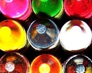Color Photograph by C. A. Hoffman titled: TutiFruti Colors I, 2008
