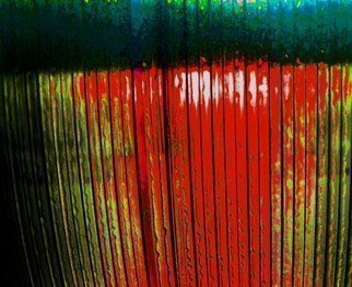 Artist: C. A. Hoffman - Title: Vertical Red - Medium: Color Photograph - Year: 2008