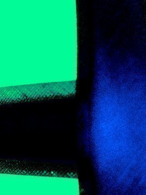 C. A. Hoffman Artwork Waiting In the Shadows III, 2009 Color Photograph, Abstract