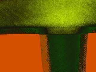 C. A. Hoffman Artwork Waiting In the Shadows V, 2009 Color Photograph, Abstract