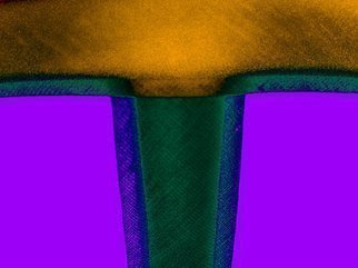 C. A. Hoffman Artwork Waiting In the Shadows VI, 2009 Color Photograph, Abstract
