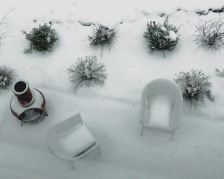Artist: C. A. Hoffman - Title: White Winter Seats - Medium: Color Photograph - Year: 2010