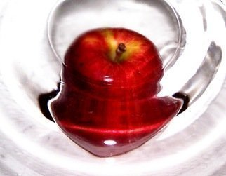 C. A. Hoffman Artwork Wormhole Apple, 2008 Wormhole Apple, Abstract