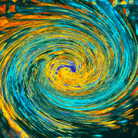 Wormhole Van Gogh  By C. A. Hoffman