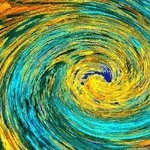 Wormhole Van Gogh Revisited By C. A. Hoffman