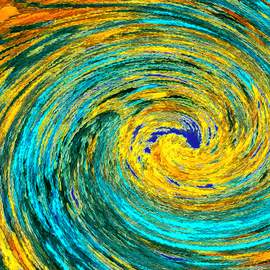 Wormhole Van Gogh Revisited, C. A. Hoffman