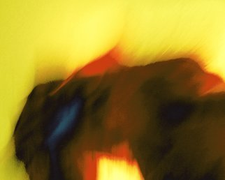 C. A. Hoffman: 'Yellow Savannah Day', 2010 Color Photograph, Abstract. Artist Description:  This is an original photo that has been digitally- painted to create an original work of art.                                              ...