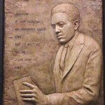 Langston Hughes relief By Pica Mertvago