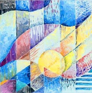 Artist: Dieter Picchio-specht - Title: Luce e ombra - Medium: Acrylic Painting - Year: 2005