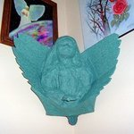 Angel Corner Wall Hanging By Michael Pickett