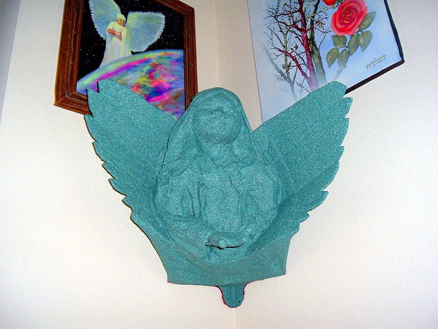 Michael Pickett  'Angel Corner Wall Hanging', created in 2006, Original Photography Other.