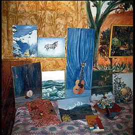 Michael Pickett: 'Collection In Oils ', 1969 Oil Painting, History. Artist Description:  These oil paintings were a collection that I did when I was 10 years old. I painted in oils till I was 21 then switched to acrylic. ...