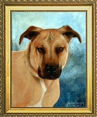 Michael Pickett Artwork Commissioned Pet Portrait, 2015 Commissioned Pet Portrait, Animals