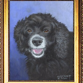 Michael Pickett Artwork Missy, 2011 Acrylic Painting, Dogs