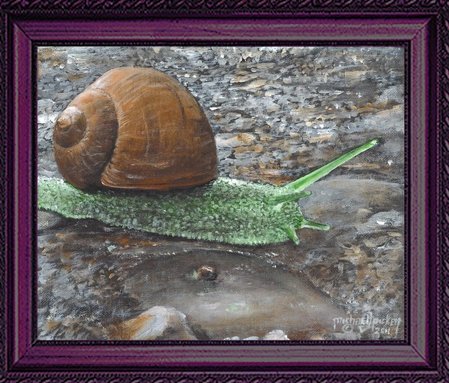 Michael Pickett  'Mr Snail', created in 2011, Original Photography Other.