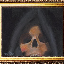 Michael Pickett: 'The Grim Reaper', 2010 Acrylic Painting, Death. Artist Description:   You can learn how to paint this painting yourself. Go to www. pickettonline. com and click on Enter, then click on the YouTube link.Thank You....