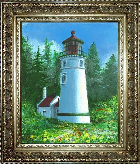 Michael Pickett Umpqua River Lighthouse 2013