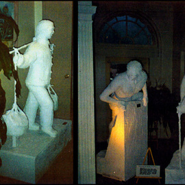 Michael Pickett: 'Umpqua Valley Arts Association 1993', 1993 Other Sculpture, World Culture. Artist Description:  Life size statues were on display in 1993  at the Umpqua Valley Arts Association Roseburg, Oregon ( USA) ...
