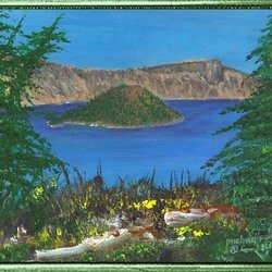 , Crater Lake, Landscape, Not For Sale