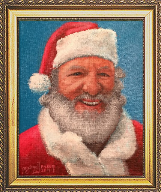 Michael Pickett  'Real Santa', created in 2017, Original Photography Other.
