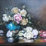 Oil painting Fresh picked By Nagy Alida