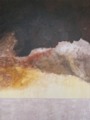 Pilar P�rez-prado: 'El Hierro Deconstruction', 2007 Mixed Media, Abstract Landscape.
