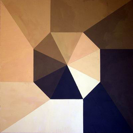 Pilar P�rez-prado: 'Musical Experiment IV Scales', 2004 Acrylic Painting, Geometric. Artist Description:   100. 0 ...