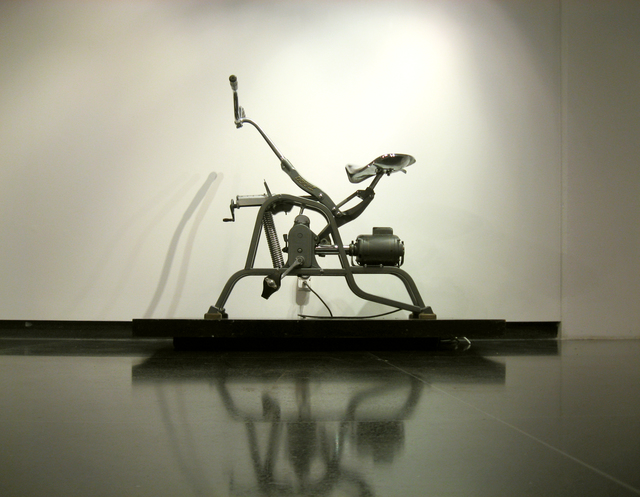 Plamen Yordanov  'Exercycle', created in 2017, Original Glass Stained.