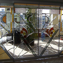 stained glass doors By Plamen Yordanov